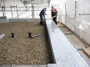 Mauerabdeckung Flachdach
